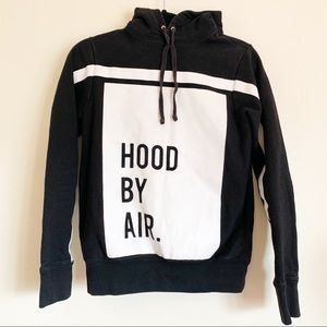 Hood By Air Black Hoodie